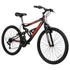 "Hyper Bicycles Men's 26"" Shocker Mountain Bike, Black"