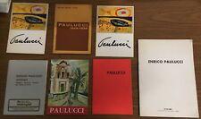 L260_ENRICO PAULUCCI 7 CATALOGHI GALLERIA_DAL 1968 AL 2000