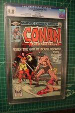 CONAN THE BARBARIAN #120 CGC 9.8 WHITE PAGES BUSCEMA/McLEOD ARTWORK/COVER