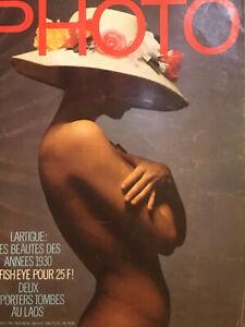 Lot 3 PHOTO MAGAZINE 1971 et 1975 Hamilton Lartigue Sieff Bourdin Man Ray