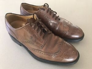 TOD'S  Mens Brogue Leather Shoes. Size UK 9. Made in Italy.