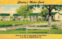 USA - Norristown Pennsylvania Charley's Motor Court 03.31