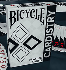 Bicycle Cardistry Black and White Playing Cards Deck Brand New