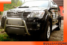 !+! TOYOTA HILUX 2013+ TUBO PROTEZIONE MEDIUM BULL BAR INOX STAINLESS STEEL
