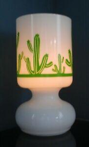 Green Desert Cactus Lamp - Desert Landscape Gifts