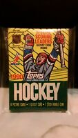 1990/91 Topps Hockey Wax Pack -Wayne Gretzky card? Brett Hull?Ed Belfour?-NHL