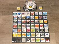 58 Nintendo DS Game Lot Burnout Shrek Brain Age Disney Goldeneye Lego Marvel