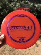 Discraft Z Avenger Ss 7/10 171g Bright Red Purple Stamp