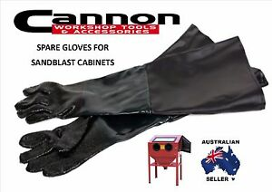 "7"" REPLACEMENT GLOVES FOR SANDBLASTING CABINET GRIT BLAST SAND BLAST TANK LARGE"
