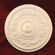 Ceiling Rose Handmade in Fine Plaster 400mm Victorian Renovations Restorations