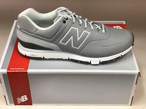 New Balance NBG574 Grey Men's Golf Shoes 11XW Were $100