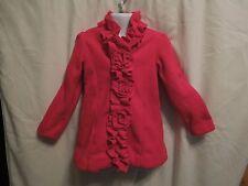 Jillianu0027s Closet Little Girls Coat Size 2T Snap Close Red