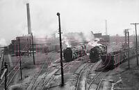 New York Central (NYC) Trains at the Buffalo Train Yards - 8x10 Photo