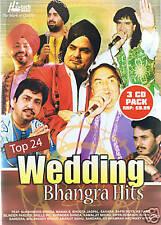 TOP 24 WEDDING BHANGRA HITS - NEW 3 CD SET
