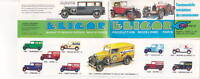 MINI CATALOGUE 13CMX6CM ELIGOR 1/43 BENTLEY ROLLS 1981 1982