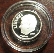 2007 PROOF Ronald Reagan Dime 1/10 Troy Oz. .999 Silver Round