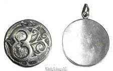 Pendant Aum Om Locket Tibetan Talisman Charm 3 cm