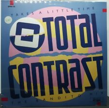 "TOTAL CONTRAST - TAKES A LITTLE TIME - VINYL MIX 12"" - EX+/NM - PR.IN GERMANY 85"