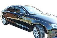 DAU10255 AUDI A3  8V  Limousine Saloon 2012-up WIND DEFLECTORS 4pc HEKO TINTED