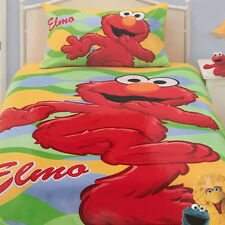 Elmo | Sesame Street Kids Duvet | Doona Quilt Cover Set | ABC | US Twin | Single