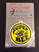 SUPER BEE DODGE CAR AIR FRESHENER * APPLE * vintage mopar rat rod sticker shirt