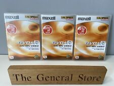 Maxell DVD-R 120 min video recordable - Blank Discs x 3