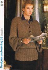Emporium Knitting Pattern, Pull-Marshall Cavendish brochure DE35