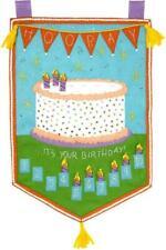 Bucilla Birthday Party Cake Countdown Banner Felt Wall Hanging Craft Kit 86929E
