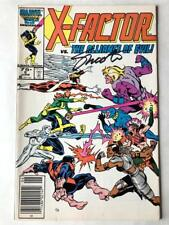 X-FACTOR #5 Signed JIM SHOOTER newsstand NM 1st Cameo Appearance Apocalypse COA