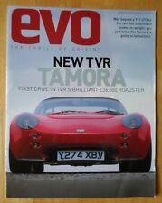 TVR Tamora 2001 UK Market brochure prospekt - Evo Magazine