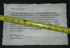 Spanish Princess screen used prop letter wax seal Queen Tudor Game of Thrones TV