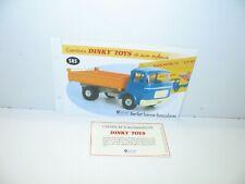 Lot de 4 Pneus 20//8 crantés pour Berliet GAK benne Dinky Toys 585