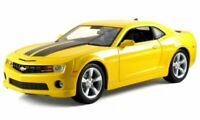 CHEVROLET Camaro SS RS - 2010 - yellow / black - Maisto 1:18