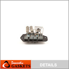 Fits 92-96 Chevrolet G10 G20 G30 GMC G1500 G2500 HVAC Blower Motor Resistor
