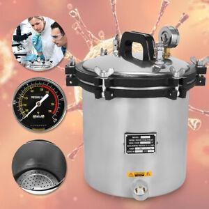 Dampfsterilisator Sterilisator Beweglicher Tätowierung Autoklav 18L Neu