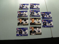 WBS Penguins 10-11 Jersey Card Lot Goligoski Tangradi 1 Gold Swatch Pittsburgh