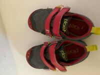 Plae TY RED/STEEL Size 10.5 Toddler Boy Shoes sneakers