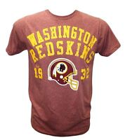 Washington Redskins NFL Junk Food Men's Distressed Graphic Style 74 T-Shirt