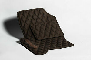 Luxury Bespoke Leather Car Floor Mats Fully Tailored fit Range Rover Sport 2006-
