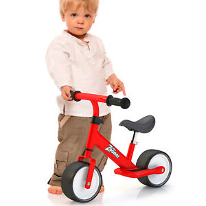 Balance bike with wide wheels for faster safer learning - 1-4 years