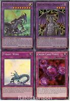 Yugioh Dragons of Legend Legendary Dragon Set - Tyrant Burst, Doom Virus - Lot