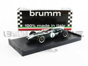BRUMM 1/43 - COOPER - CLIMAX T 53 - WINNER BRITISH GP 1960 - R300
