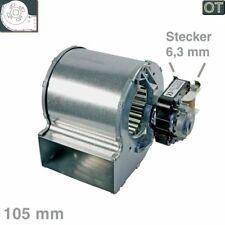 Lüfter Querstromlüfter Motor rechts 105mm TypA Nachtspeicher Siemens Dimplex #55