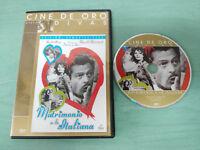 MATRIMONIO A LA ITALIANA SOPHIA LOREN MARCELO MASTROIANNI DVD SLIM ESP ITALIANO