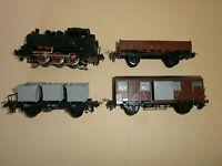 Zugset TRIX  Express H0 Dampflok  BR 80 020 + 3 Güterwagen