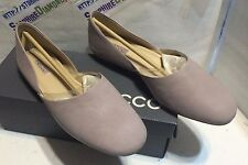 Ecco Ladies Taisha Blush Modern Flat Shoe US 9-9.5 EU 40 35277302067 NEW!
