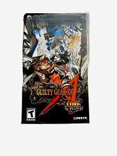 Guilty Gear XX Core Accent Core Plus Playstation Portable PSP Neu & Versiegelt