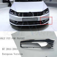 Front Left Driver's Side Foglight Grille Grill Fit For VW Passat EU Version b7