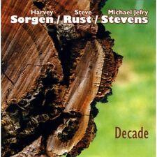 CD HARVEY SORGEN STEVE RUST MICHAEL STEVENS  Decade   Not Two