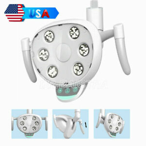 COXO Dental 6-10W Oral Induction Light Lamp 6PCS LED CX249-23 for Unit Chairs